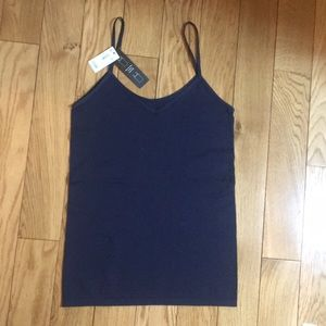 NWT! The Limited navy 2-way tank top